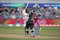 Kane Williamson (New Zealand) pulls over mid wicket for six during West Indies vs New Zealand, ICC World Cup Warm-Up Match Cricket at the Bristol County Ground on 28th May 2019