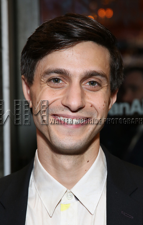 """Gideon Glick Attends the Broadway Opening Night of """"All My Sons"""" at The American Airlines Theatre on April 22, 2019  in New York City."""