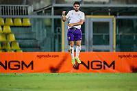 Riccardo Sottil of Ac Fiorentina celebrates scoring <br /> Livorno 04/08/19 Stadio Armando Picchi <br /> Football friendly match pre season 2019/2020 Livorno - Fiorentina <br /> Foto Andrea Masini / Insidefoto