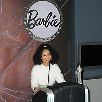 08 March 2019 - New York, New York - Yara Shahidi. Yara Shahidi for Mattel lights the Empire State Building pink for Barbie's 60th Anniversary. Photo Credit: LJ Fotos/AdMedia