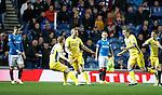 Blair Alston celebrates his goal for St Johnstone