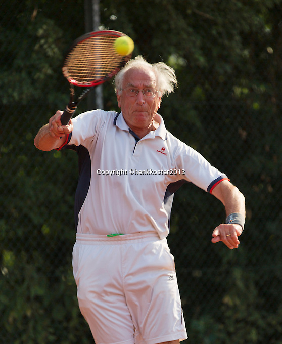 2013,August 21,Netherlands, Amstelveen,  TV de Kegel, Tennis, NVK 2013, National Veterans Tennis Championships,   <br /> Photo: Henk Koster