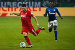 19.12.2017, Veltins-Arena , Gelsenkirchen, GER, DFB Pokal Achtelfinale, FC Schalke 04 vs 1. FC K&ouml;ln<br /> , <br /> <br /> im Bild | pictures shows:<br /> Milos Jojic (1.FC Koeln #8) vor Breel Embolo (FC Schalke 04 #36), <br /> <br /> Foto &copy; nordphoto / Rauch