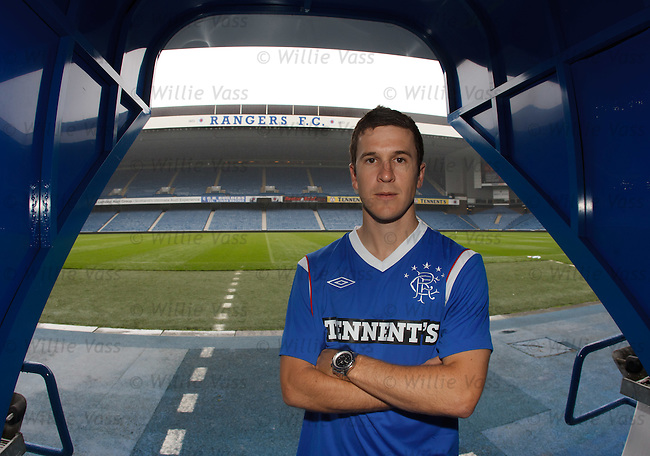 Australian midfielder Matt McKay at Rangers and looking ahead to the SPL campaign
