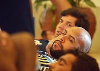 ATIBAIA,SP - 13.11.2015 - FUTEBOL-PALMEIRAS - Jogador Alecsandro, durante treino realizado no Bourbon Convention & Spa Resort, em Atibaia, interior do estado de São Paulo, na manhã dessa sexta-feira, 13. (Foto: Eduardo Carmim /Brazil Photo Press)