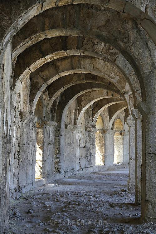 Images of Turkey. ASPENDOS
