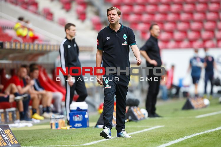 Florian Kohfeldt (SV Werder Bremen) an der Seitenlinie, <br /> <br /> Sport: Fussball: 1. Bundesliga:: nphgm001:  Saison 19/20: 33. Spieltag: 1. FSV Mainz 05 vs SV Werder Bremen 20.06.2020<br /> Foto: Neis/Eibner/Pool/via gumzmedia/nordphoto<br /><br />DFB regulations prohibit any use of photographs as image sequences and/or quasi-video.<br />Editorial Use ONLY<br />National and International News Agencies OUT<br />  DFL REGULATIONS PROHIBIT ANY USE OF PHOTOGRAPHS AS IMAGE SEQUENCES AND OR QUASI VIDEO<br /> EDITORIAL USE ONLY<br /> NATIONAL AND INTERNATIONAL NEWS AGENCIES OUT