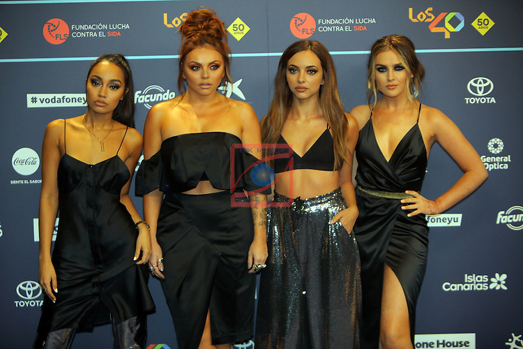Los 40 MUSIC Awards 2016 - Photocall.<br /> Little Mix.