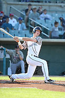 Kyle Tucker (31) of the Lancaster JetHawks bats against the Inland Empire 66ers at The Hanger on September 3, 2016 in Lancaster, California. Lancaster defeated Inland Empire, 7-6. (Larry Goren/Four Seam Images)