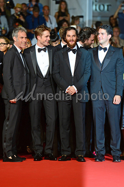 "25 May 2017 - Cannes, France - Guest, Robert Pattinson, Joshua Safdie, Ben Safdie. ""Good Time"" Premiere - The 70th Annual Cannes Film Festival. Photo Credit: Jan Sauerwein/face to face/AdMedia"