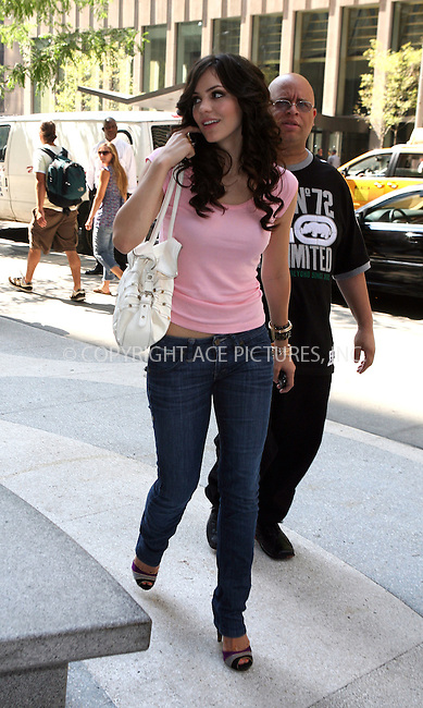 WWW.ACEPIXS.COM ** ** ** ....***EXCLUSIVE - PLEASE PHONE BEFORE USE***....July 25 2007, New York City....Recording artist Katherine McPhee visited the 'Time Life ' Building in midtown Manhattan.......Please byline: Philip Vaughan -- ACEPIXS.COM.. *** ***  ..Ace Pictures, Inc:  ..tel: (646) 769 0430..e-mail: info@acepixs.com..web: http://www.acepixs.com