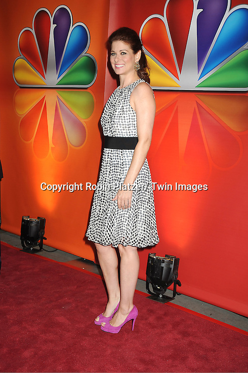Debra Messing attends the NBC Upfront Presentation of 2012-2013 Season at Radio City Music Hall on May 14, 2012 in New York City.