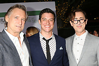 """LOS ANGELES - SEP 16:  Bill Pullman, James Mackay, Alan Cumming at the """"Battle of the Sexes"""" LA Premiere at the Village Theater on September 16, 2017 in Westwood, CA"""