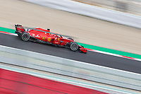 Vettel, Formula 1 pilot of the Ferrari Team, shooting during the second day of the test days of Formula 1, held at the Catalunya circuit (Montmelo) Catalonia February 27th  of 2018