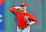 6 March 2012: Washington Nationals pitcher Jeff Fulchino on the mound during a Spring Training game against the Atlanta Braves at Champion Park in Disney's Wide World of Sports Complex, Orlando, Florida. The Nationals defeated the Braves 5-2 in Grapefruit League action. Mandatory Credit: Ed Wolfstein Photo