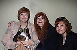 Catherine with designer Jane Elissa and Ave at Romantic Times Booklovers Annual Convention 2011 - The Book Industry Event of the Year - April 6th to April 10th at the Westin Bonaventure, Los Angeles, California for readers, authors, booksellers, publishers, editors, agents and tomorrow's novelists - the aspiring writers. (Photo by Sue Coflin/Max Photos)