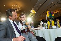 Turn It Gold Gala, 2020 at the Royal Sonesta hotel in Houston, TX