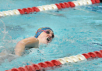 Villa Joseph Marie's Mackenzie Spearing competes in the Girls 200 Freestyle during the Athletic Association of Catholic Academies Swim Championships Sunday February 14, 2016 at Upper Dublin High School in Upper Dublin, Pennsylvania. She finished 23rd with a time of 2:30.38. (Photo by William Thomas Cain)