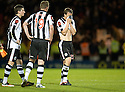 ST MIRREN'S JEREON TESSELAAR IS DEJECTED AT THE END OF THE GAME
