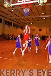 Where did she go? St Mary's Mags O'Donoghue slips past St Paul's Kate Donnelan for an easy two-pointer in their Kerry Cup clash.   Copyright Kerry's Eye 2008