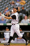 9 September 2006: Todd Helton, first baseman for the Colorado Rockies, in action against the Washington Nationals. The Rockies defeated the Nationals 9-5 at Coors Field in Denver, Colorado.&#xA;&#xA;Mandatory Photo Credit: Ed Wolfstein.<br />