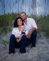 Kristy Fretham family beach photos at Jacksonville Beach, Florida