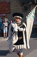 Italien, Toskana, Pomarance, Palio Storico delle Contrade