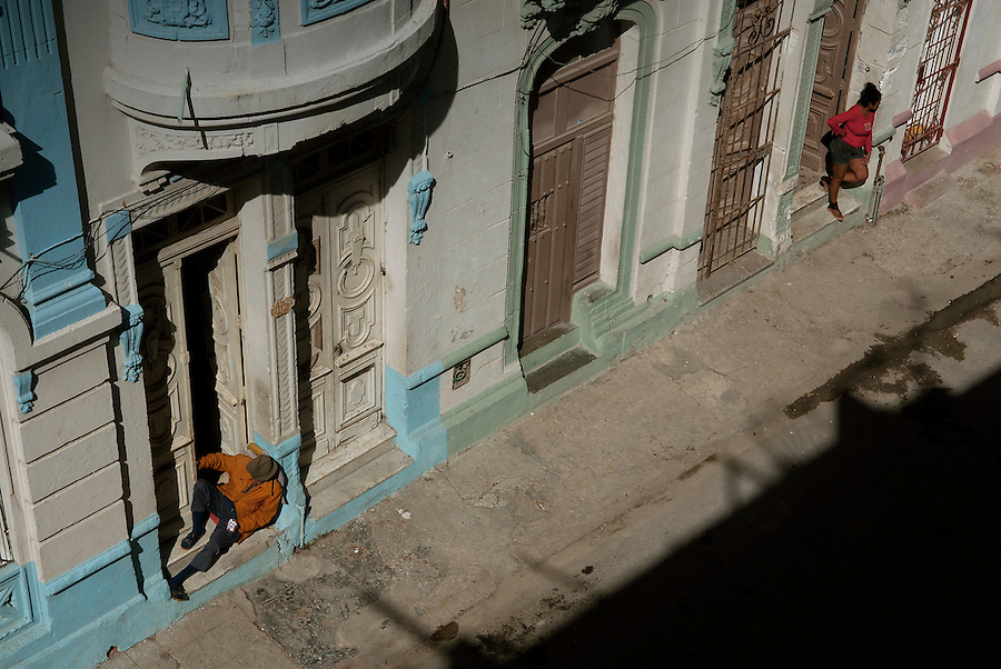 A streetscene from Central Havana.