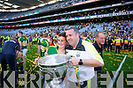 Niall O'CAllaghan. Kerry players celebrate their victory over Donegal in the All Ireland Senior Football Final in Croke Park Dublin on Sunday 21st September 2014.