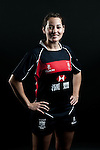 Lindsay Varty poses during the Hong Kong 7's Squads Portraits on 5 March 2012 at the King's Park Sport Ground in Hong Kong. Photo by Andy Jones / The Power of Sport Images for HKRFU