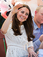 Kate, Duchess of Cambridge & Prince William visit Bear Cottage hospice in Sidney - Australia