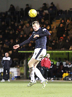 Aaaron Muirhead in the St Mirren v Falkirk Scottish Professional Football League Ladbrokes Championship match played at the Paisley 2021 Stadium, Paisley on 1.3.16.