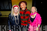 Lisa Conway, Ger Breen and Mary Lacey dressed to kill as they support the 80's at the Disco fundraiser for Epilepsy Ireland in the Austin Stacks Club house on Sunday night.