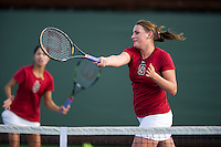 Mallory Burdette of the 2010 Stanford women's Tennis Team.