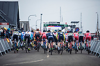 Men's U23 race start <br /> <br /> UCI 2019 Cyclocross World Championships<br /> Bogense / Denmark<br /> <br /> &copy;kramon