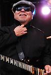 César Rosas of Los Lobos, live concert Spring Grüv, Canyons Resort, Park City, Utah