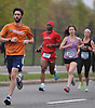 Long Island Marathon Weekend 10K runners pound the pavement on Merrick Avenue in Westbury on Sunday, May 1, 2016.