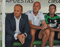 25AGO2012_LaLiga_Spain_RealBetisVSRayoVallecano_Pepe Mel_ coach Real Betis
