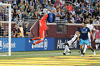 Minneapolis, MN - Saturday, August 5, 2017: Minnesota United FC played Seattle Sounders FC in a Major League Soccer (MLS) game at TCF Bank stadium. Final score Minnesota United 0, Sounders 4