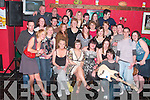 Patricia Flahive, seated second from right from Ballybunion celebrated her 21st birthday with family and friends in Badger Kelly's Bar Ballybunion on Saturday night.   Copyright Kerry's Eye 2008