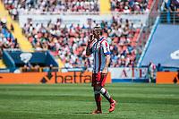 VALENCIA, SPAIN - MARCH 10: Fernando Torres during BBVA LEAGUE match between Levante U.D. Andr Atletico de Madrid at Ciudad de Valencia Stadium on March 10, 2015 in Valencia, Spain