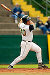 18 May 2006: Jeff Nolet,  a University of Vermont Freshman from Concord, MA, at bat against the University of Maine Black Bears, at Historic Centennial Field, in Burlington, Vermont...Mandatory Photo Credit: Ed Wolfstein Photo.