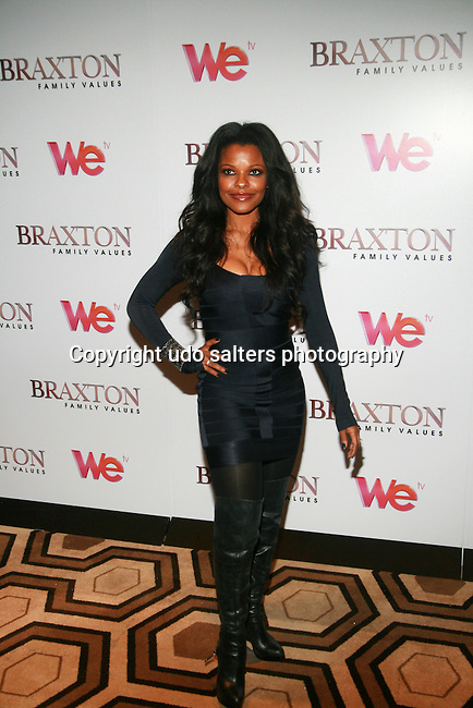 Actress Keesha Sharp Attends Premiere Screening of BRAXTON FAMILY VALUES Season 2 Held at Tribeca Grand, NY 11/8/11