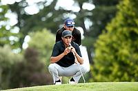 Mako Thompson during the New Zealand Amateur Golf Championship at Russley Golf Course, Christchurch, New Zealand. Friday 3 November 2017. Photo: Martin Hunter/www.bwmedia.co.nz