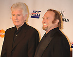 LOS ANGELES, CA. - January 29: Graham Nash and Stephen Stills of Crosby, Stills & Nash  arrive at the 2010 MusiCares Person Of The Year Tribute To Neil Young at the Los Angeles Convention Center on January 29, 2010 in Los Angeles, California.