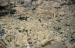 An aerial view of Jerusalem Old City