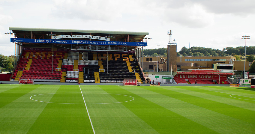 A general view of  LNER Stadium, home of Lincoln City<br /> <br /> Photographer Andrew Vaughan/CameraSport<br /> <br /> The EFL Sky Bet League One - Saturday 12th September  2020 - Lincoln City v Oxford United - LNER Stadium - Lincoln<br /> <br /> World Copyright © 2020 CameraSport. All rights reserved. 43 Linden Ave. Countesthorpe. Leicester. England. LE8 5PG - Tel: +44 (0) 116 277 4147 - admin@camerasport.com - www.camerasport.com - Lincoln City v Oxford United