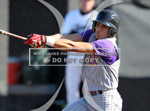 Montverde Academy Eagles varsity baseball team against the Olympia High School Titans at Olympia High School on March 7, 2011 in Orlando, Florida.  (Copyright Mike Janes Photography)