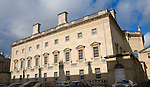 The Assembly Rooms museum of fashion, Bath, Somerset, England architect John Wood the Younger built in 1769.