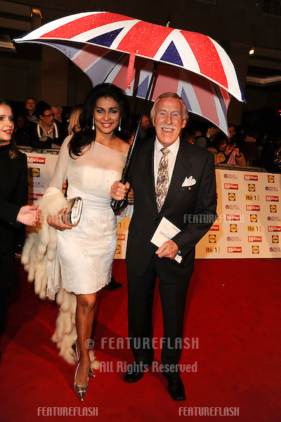 Bruce Forsyth and wife, Wilnelia arriving for the 2012 Pride of Britain Awards, at the Grosvenor House Hotel, London. 29/10/2012 Picture by: Steve Vas / Featureflash
